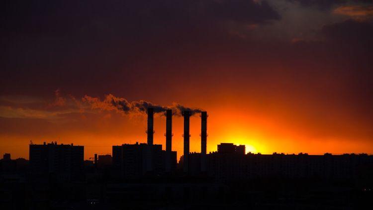 Закат отрадное урбан