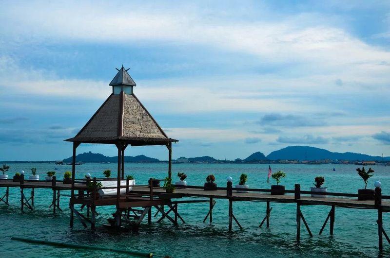 Malaysia Bridge OceanCity Ocean View Ocean❤ Ocean_Collection ~~ Ocean Oceanographic EyeEm Malaysia Sea And Sky Sea Sea View