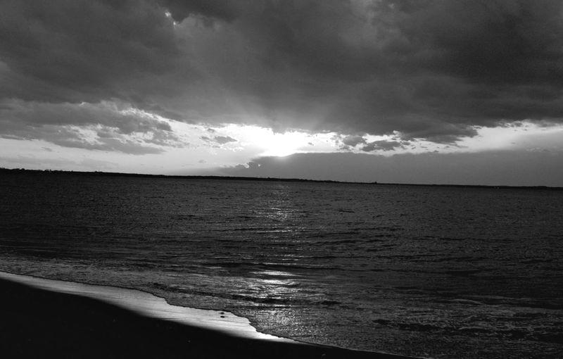 Beach Horizontal Outdoors Horizon Over Water Sand Water Sea Nature Cloud - Sky Sky Tranquil Scene Coastline Landscape Scenics No People Day Beauty In Nature Wave Sand Dune Follow Followme Monochrome Photography bnw Black & White Blackandwhite