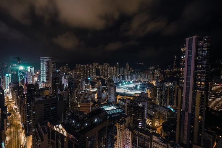 City Lights Blue City Citylights Cityscape Dark Golden Streets HongKong Laserlight Lasershow Lights Night Rooftop Skyline Urban EyeEmNewHere