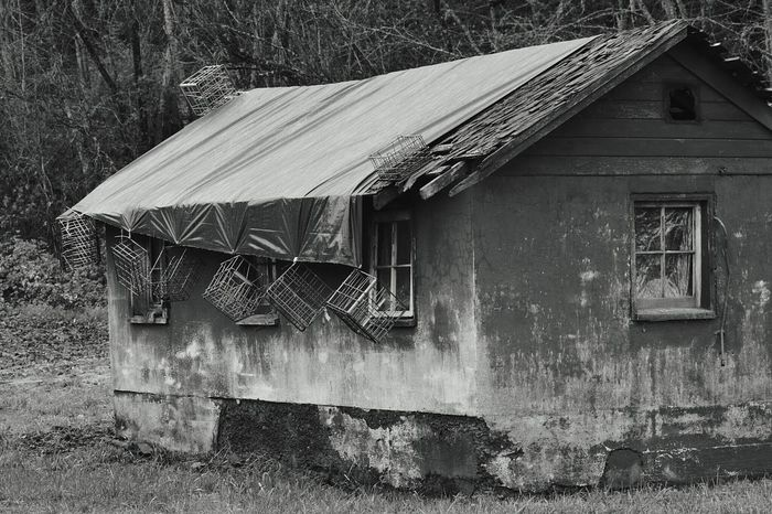 EyeEm Best Shots - Black + White Barn Farm Old Buildings Old Shed Monochrome Photography