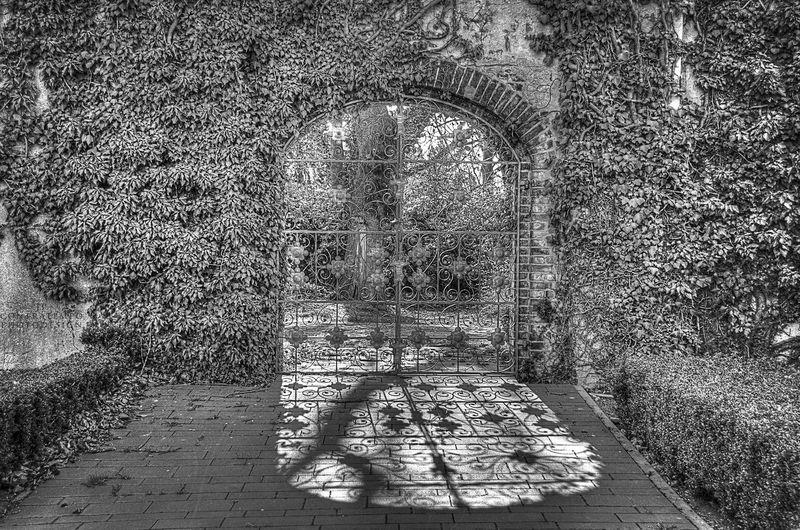 Double exposure of wall