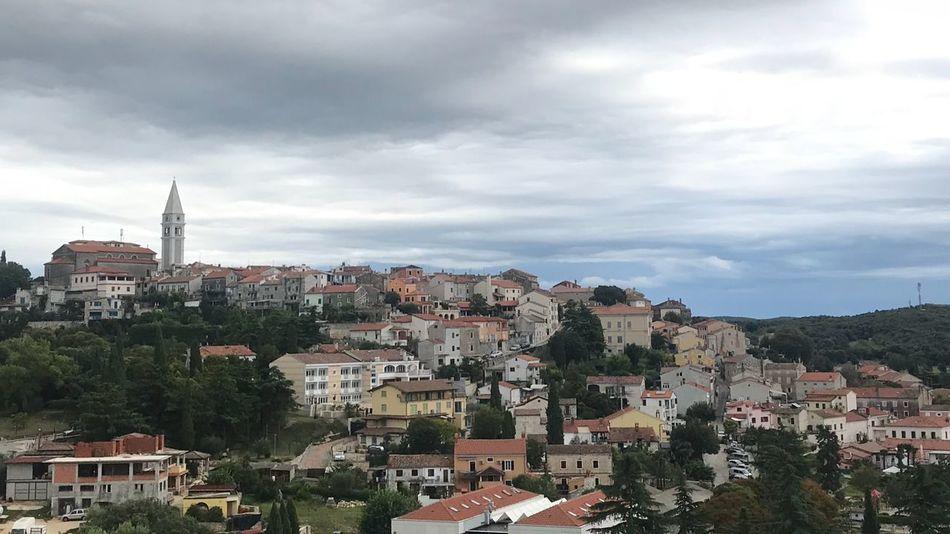 Vrsar Vrsar Old City Istria Croatia Building Exterior Built Structure Architecture Cloud - Sky City Sky Building