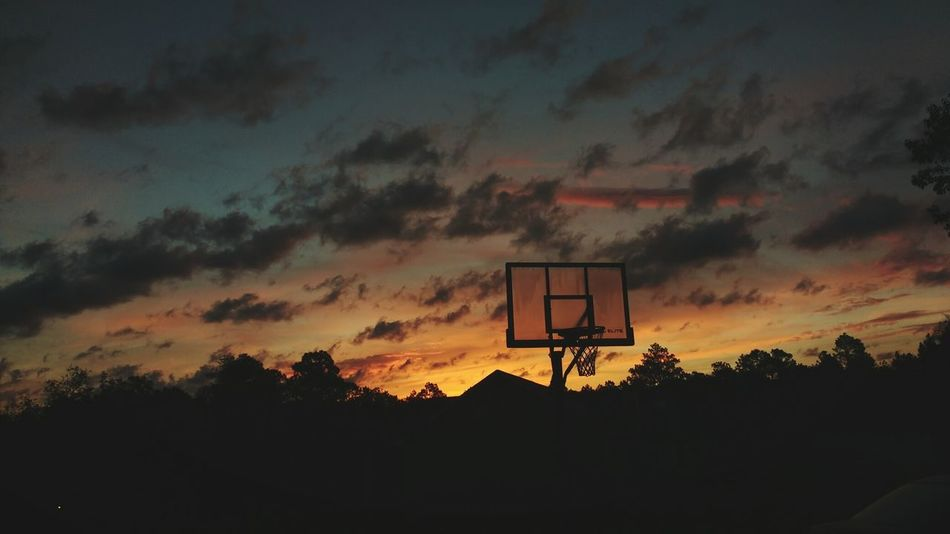 Sunrise Sun Sunlight Sunlight And Shadow Hello World Relaxing Colors Of Autumn Colour Of Life Sports Basketball Basketball Hoop