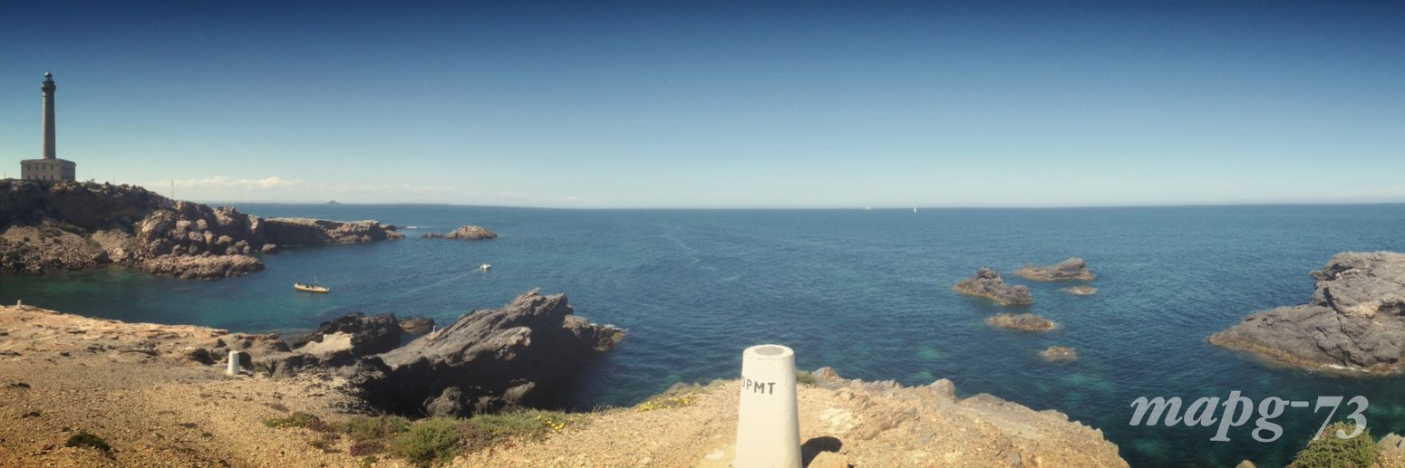 Water Outdoors Horizon Over Water Sea Nature Cape Palos Lighthouse