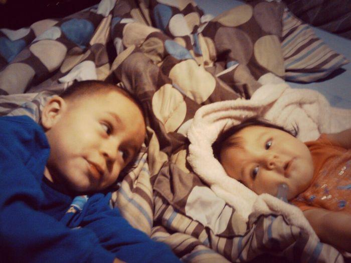 My babys my everything #gordaaa #trompas Adan Yhazier & Aileen Yhannavail