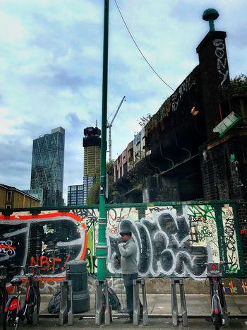 Postcode Postcards Streetphotography Graffiti Performer