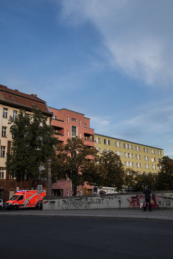 Berlin Architecture Building Building Exterior Built Structure Car City Cloud - Sky Day Germany Mode Of Transportation Outdoors Residential District Sky Street Transportation