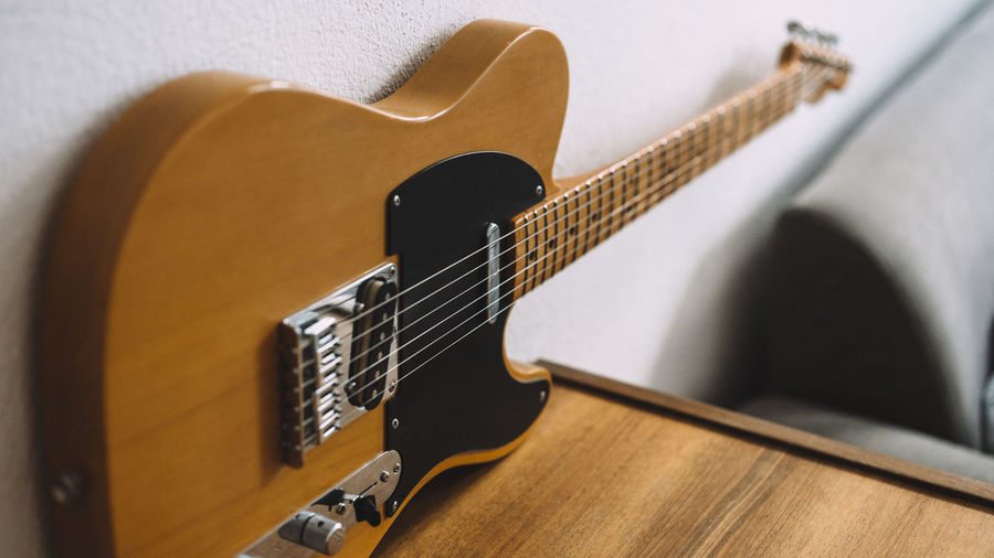 My Telecaster. Built by my friend's dad. Berlin Close-up Electric Guitar Guitar Lieblingsteil Music Music Musical Equipment Musical Instrument No People Rock Vintage