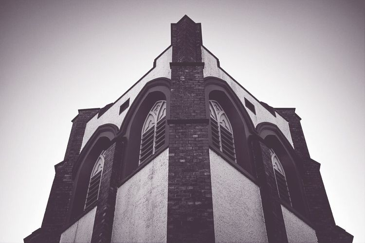 Architecture Church New Zealand Travel Photography