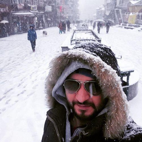 Eskimo Manali Selfie Manaliselfie Snow Himachalpradesh Himachal Himalaya Snow Kullumanali Ankitdogra
