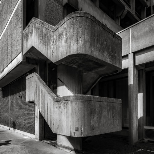 Brutal concrete stairs