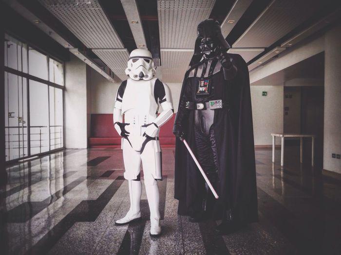 Come to the dark side of the force.... Starwars Darthvader Stormtrooper Venezuela