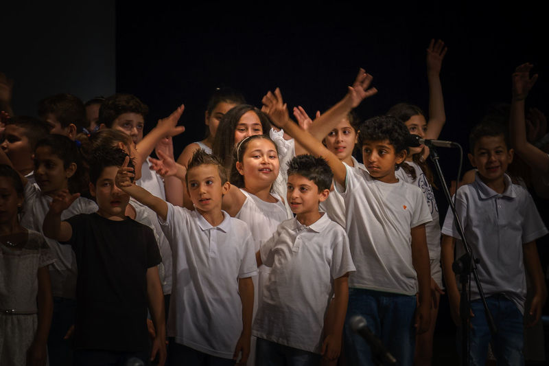 They are the future! 43 Golden Moments Bestoftheday Child Children Choir  Cyprus EyeEm Best Shots EyeEm Gallery Fine Art Photography Future Hands At Work Kids Kıbrıs Music Music Is My Life Side By Side Singing SONY A7ii Trnc Turkishfollowers Ultimate Japan The OO Mission Showcase July The Color Of School People And Places