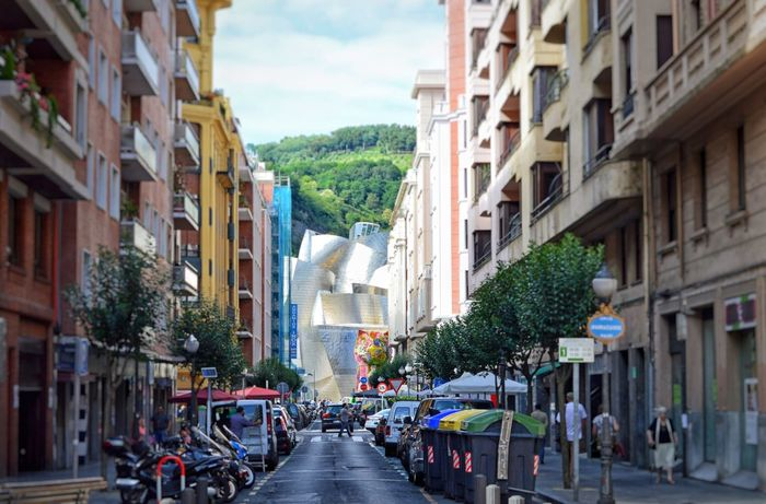 Guggenheim Bilbao Jeff Koons Dog Flowers Colors Streetphotography Architecture Street City Bilbao Basque Country Gehry Buildings Modern Architecture Walking Around SPAIN Art Art Gallery