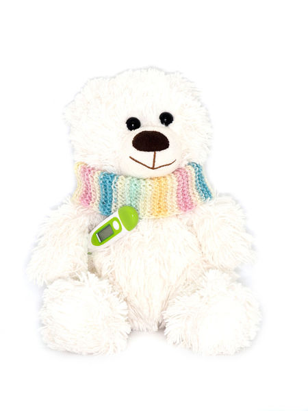 Animal Representation Child Childhood Close-up Coldness Illness Kind Medecine No People Scarf Smile Softness Studio Shot Stuffed Stuffed Toy Teddy Bear Temperature Thermometer Toy Toy Animal White Background