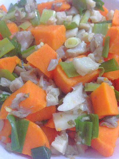 Sweet Potatoes Green Onion Oyster Mushrooms Healthy Food Vegetarian Food Vegan Food Vegetables 365 Photos In 2015 Dinner