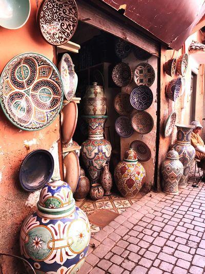 Pottery Marrakech Medina, Morocco Moroccan Morocco Marrakesh EyeEm Selects