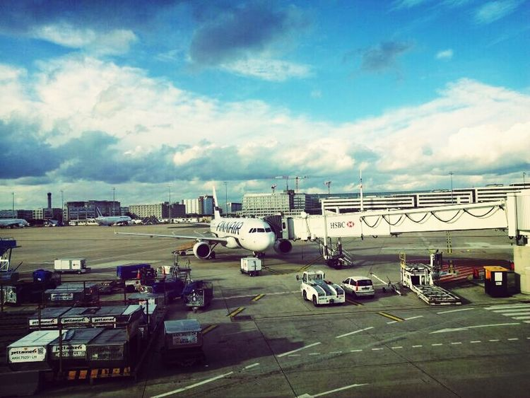 Paris Airplane Airport Cdg
