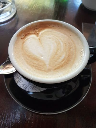 Coffee Cappuccino Food And Drink Morning Love Coffee - Drink EyeEmNewHere