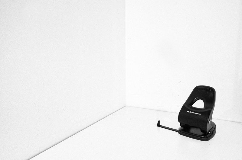 single Architecture Bathroom Black Color Built Structure Close-up Communication Connection Copy Space High Angle View Indoors  No People Office Single Object Still Life Technology Telephone Wall - Building Feature Wallpaper White Background White Color
