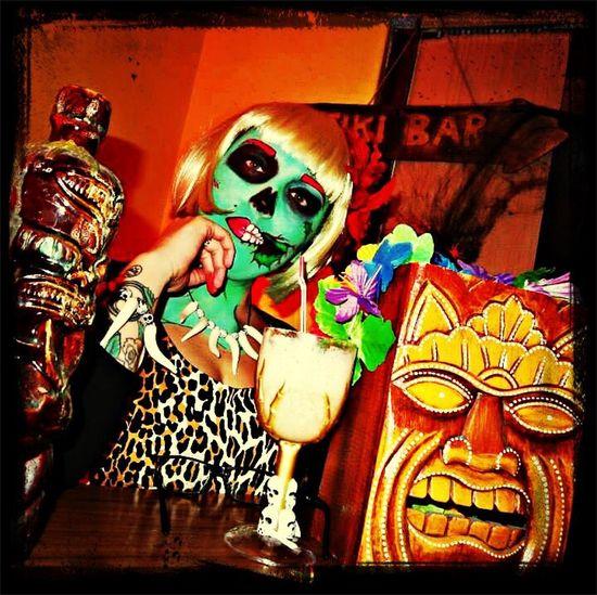 Tiki Hell-o-ween Halloween Halloween Horrors