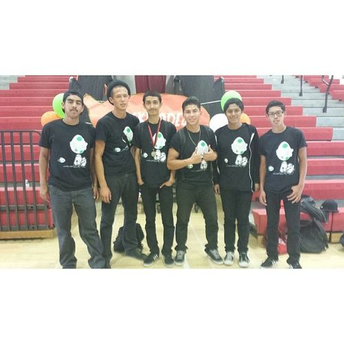 Even tho it was freakin hot in the gym, i think the rally went really well ( : Proud Dancer Yoshifamily Awesome