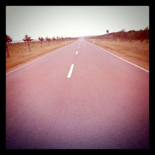The road to nowhere. #TagebauLausitz Tagebaulausitz