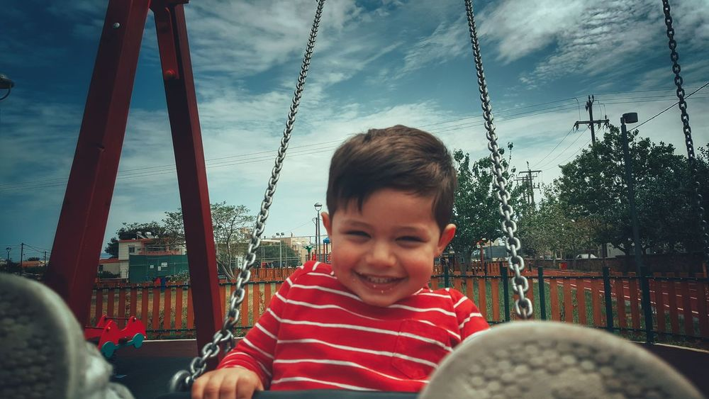 The Portraitist - 2016 EyeEm Awards Little Boy My Son Playing Swinging Loughing Enjoying Life Playground Children Photography Childsplay Childhood Kidsphotography Close-up Kids Being Kids Child Boy From My Point Of View Swing Malephotographerofthemonth Found On The Roll