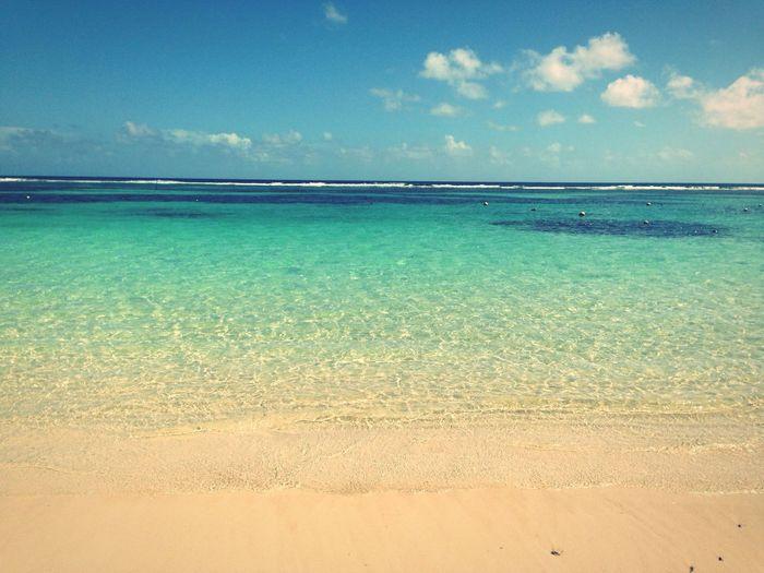 las bellas playas de mahahual