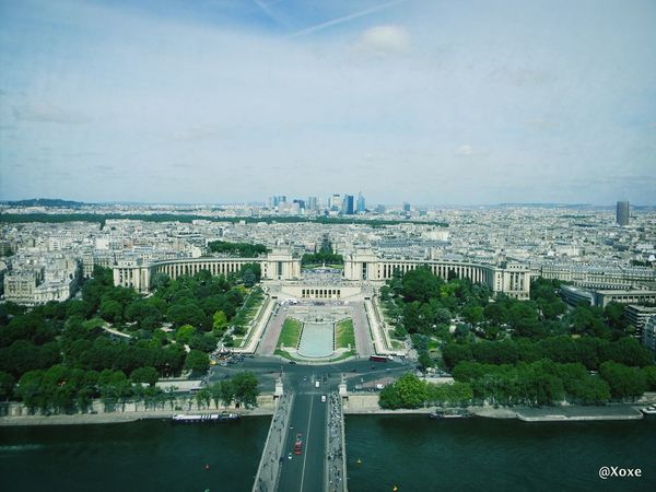 Trocadéro Gardens Paris France