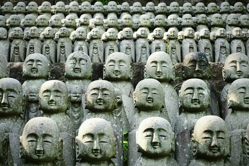 Many Rows Of Things Statues Japanese Temple Japanese Culture Faces Tadaa Community Eye4photography  AMPt_community Exeptional Photographs Travel Photography Shootermag Japanese Style Endlessness Ultimate Japan
