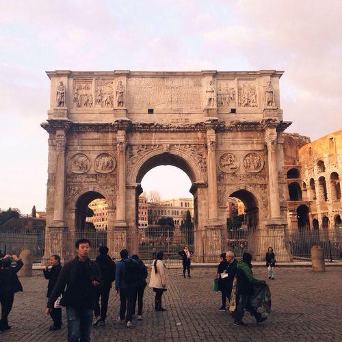 Roman evening walk Under Pressure EyeEm Best Shots - People + Portrait EyeEm Best Shots - The Streets Architecture The Week On EyeEm