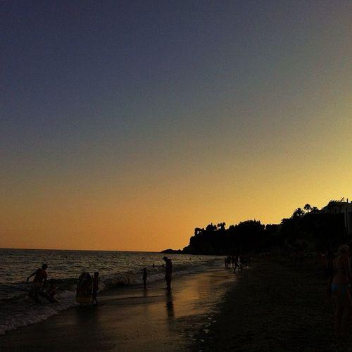 #sunset #anochecer #nerja #burriana Sunset Anochecer Nerja Burriana