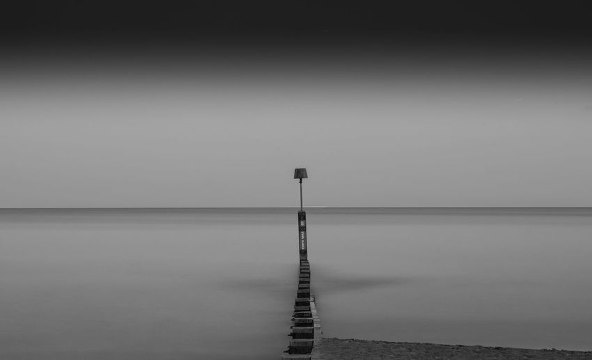 """""""Into the void"""" Bournemouth Absence Beauty In Nature Clear Sky Day Long Exposure Nature No People Outdoors Scenics Sea Sky Tranquil Scene Tranquility Water"""