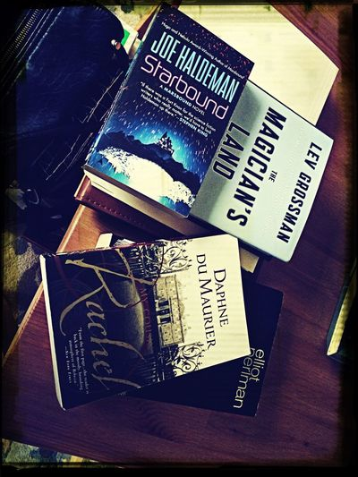 4 books in 2 days. Bought not read. I've got an addiction. Future Book Hoarder...not Cool.
