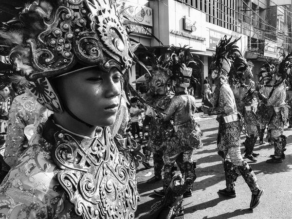 The Portraitist - 2017 EyeEm Awards Sinulog Festival Cebu Philippines CebuPH Kaplagfestival First Eyeem Photo Cebu Photography Mobilephotography Streetphotography Monochrome Photography EyeEm Best Shots - Black + White