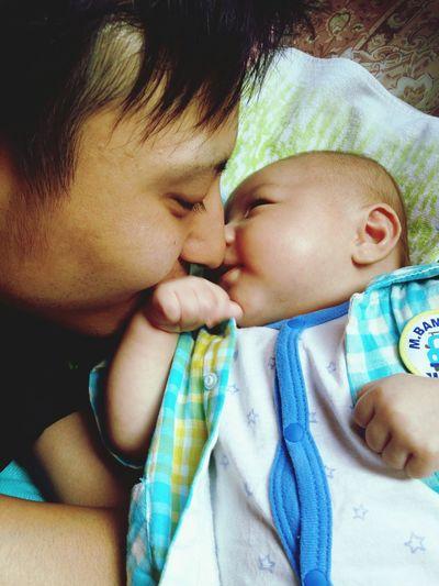 Baby ❤ My Baby Baby Boy Eight 8 Eito 男の子ママ 息子 Daddyandbaby