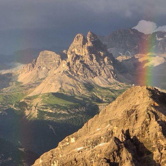 Dolomites Rainbow IloveClimbing Ilovemountains
