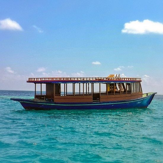Dhoani Sea Sky Clouds boat picoftheday photooftheday hot_shotz nature samsung note3 beautiful day instagramers instafun instagood instagrammv maldives_photos maldiveslovers maldivesphotography maldivian maldives
