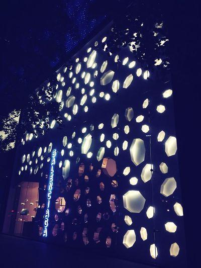 Night Window Shopping Balenciaga