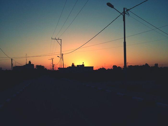Hello World from Tulkarm Sunset