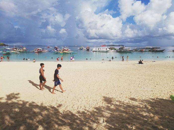 Chillin Water Sea Full Length Togetherness Beach Sand Summer Men Enjoyment Fun