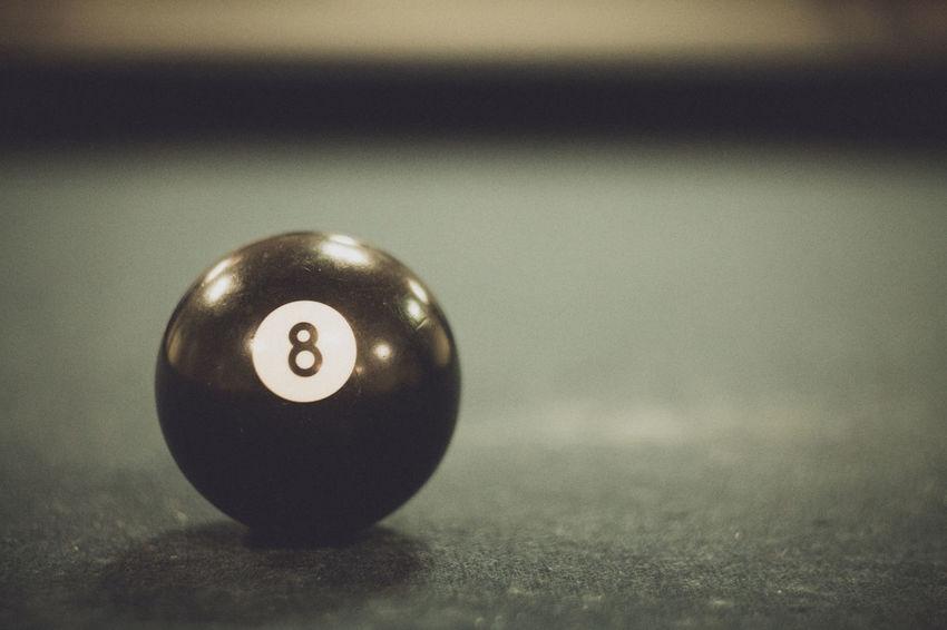 Retro Ball Billiards Blackball Close-up Pool Pool Ball Pool Table Sport Table