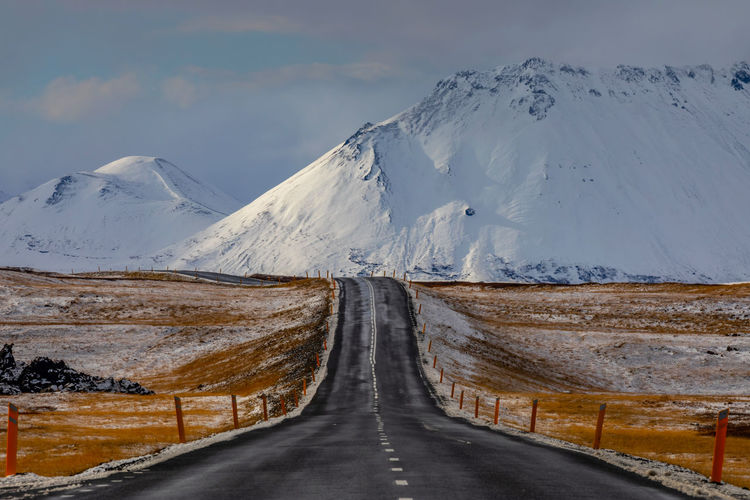 Der weg in den schnee, the way in the snow