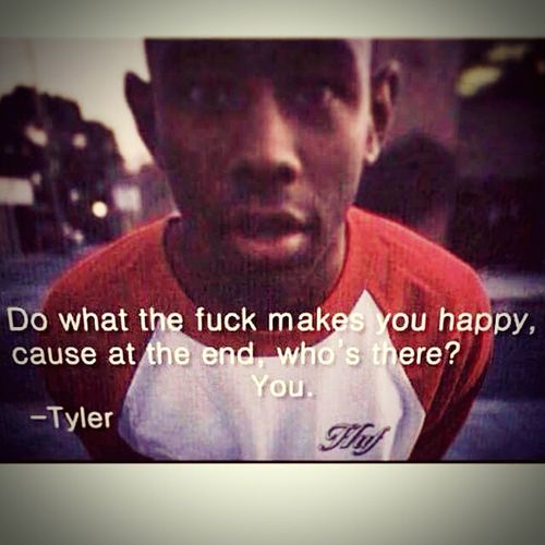 Tyler spitting words of truth for your eyes and ears O.F. Odd Future Golfwangnigga Wolf Gang