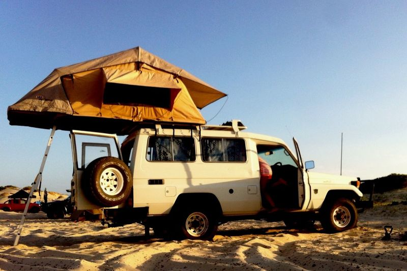 BeachHouse For Me  Landcruiser  Luxury Living On The Road Rooftop Tent