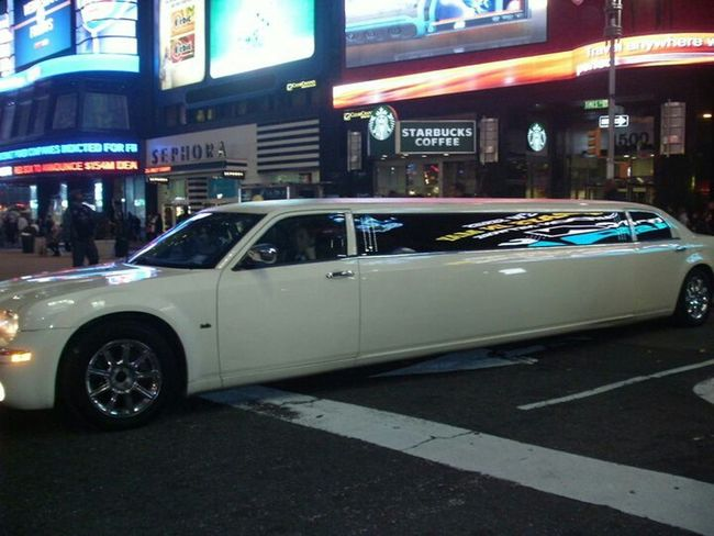 taking photo, Starbucks Coffee shop,New York City,limo,