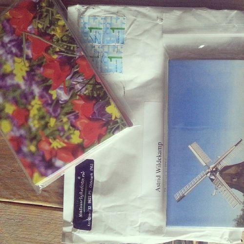 Postcrossing kan in volle gang verder. Bestelling via Natuurlijkefoto is binnen. 365daysoflittlehappiness