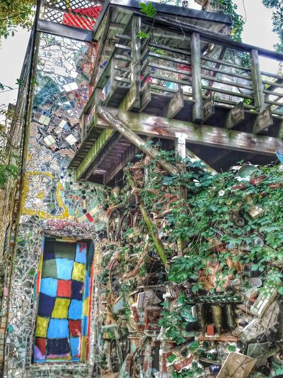 All it takes is a little imagination. The artist who did this for the homeowners is Isaiah Zagar. He is famous for for creating The Magic Gardens on South St. In Philadelphia. A large mosaic project he began in the 1960's to revitalize South Philly and is on going. He's most known for The Magic Garden but also does private work for homeowners in the area. I will include some of The Garden in your album if you don't mind Keyda. And a special thanks to our wonderful host @JrAnon for showing us this special place. For Keyda, Be You! Where Strangers Stay Saturday The Gathering  Streamzoofamily For My Friends That Connect
